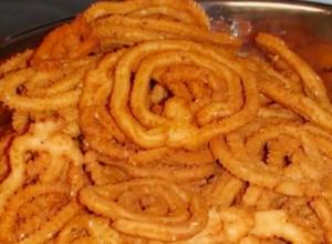 Chakri or Murukku - Indian Snack