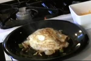 Hangover Hash with Stir Fried Egg