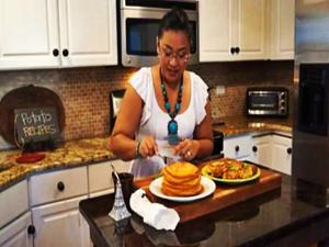 Sweet Potato Pancakes | Great Everyday Meals by Momma Cuisine