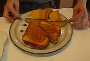 Betty's Great Dagwood-Style Sandwich