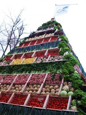 Vegetable Pyramid