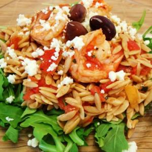 Shrimp Orzo - Simple and Sensational