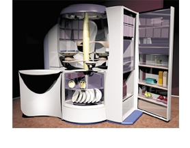 A Futuristic Kitchen