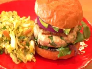 Grilled Ahi Tuna Burgers