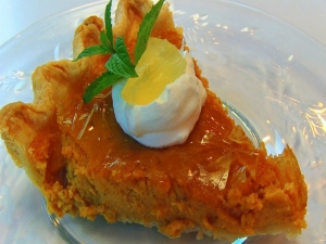 Betty's Cracked Top Caramel Pumpkin Pie