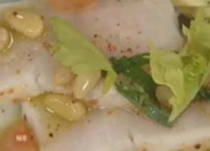Italian Hamachi and Grapefruit Basil Salad Part 2- Seasoning Salad