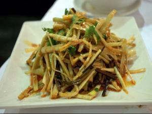 Stir Fried Bamboo Shoots