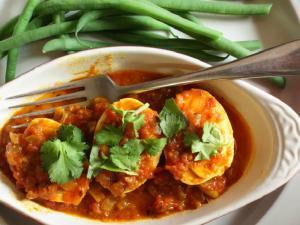Madras Egg Curry