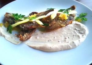 Veal Tongue With Sour Sauce