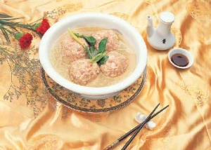 Meats were the chief attraction of Chinese imperial menu