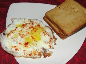 Delicious And Easy Half Fried Egg