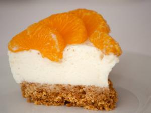 Mini Mandarin Cheesecakes