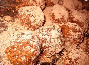 Cocoa Bourbon Balls