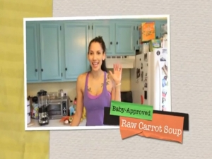 Raw Vegan Carrot Soup