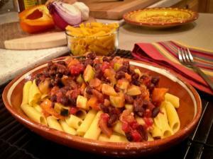 Gluten Free Southwest Style Corn Pasta