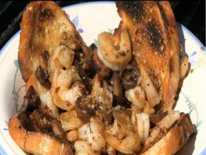 Bubba Gump Style Cajun Shrimp