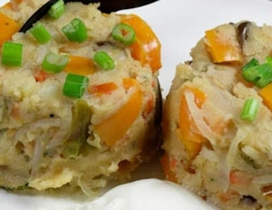 Spicy Upma with Vegetables
