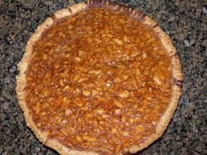 Peanut Scotch Pie