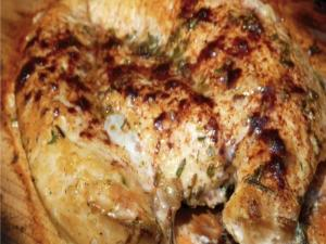 Cedar Plank Chicken Breast