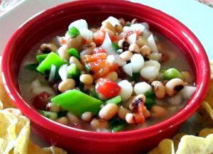 Texas Peas Corn Caviar