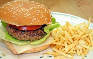 Homemade Beef Burger