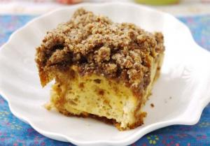 Apple Butter Crumb Pudding