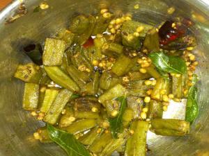 Bhindi Tadka Fry