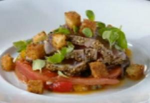 Appetizing Tuscan Tuna Salad