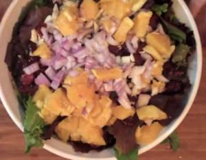 Quick and Simple Dinner Salad