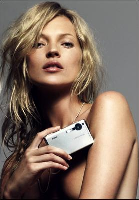 Kate Moss and her cookbook