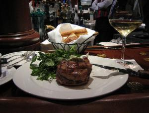Grilled Veal Chops with Arugula