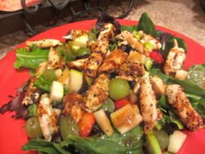 Chicken Curry Salad With Fruit