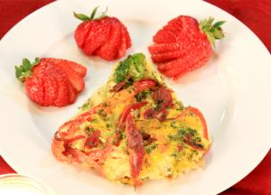 Mother's Day Special Pan Cooked Hash Brown Egg Bake