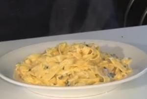 7- Minutes Fettucini Carbonara