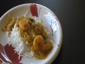 Shrimp Tikka Masala / Indian Curry