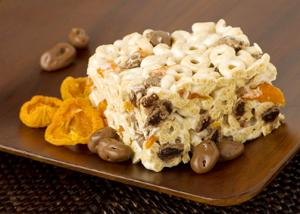 Milk Chocolate Raisin Fruity Cereal Squares