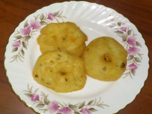 Moms Special Homemade Minapa Garelu
