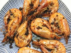 Broiled Shrimp With Garlic Butter