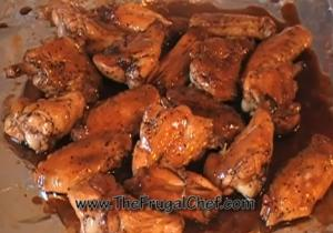 Sweet and Sticky Wings