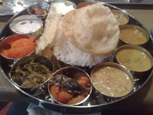Dining In Indian Style