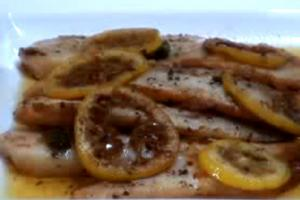 Fried Tilapia With Lemon And Capers