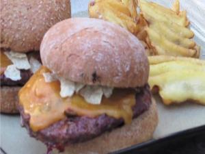 Elk Nacho Burgers