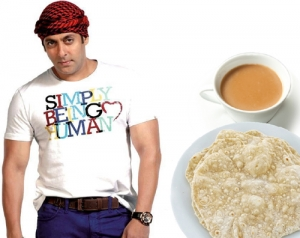 Salman Khan and his favorite breakfast