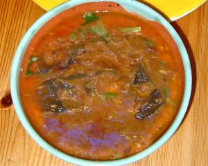 Creamy Aubergine Curry