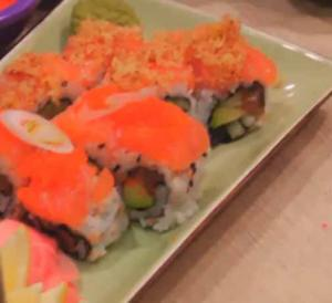 Kosher Salmon Sushi