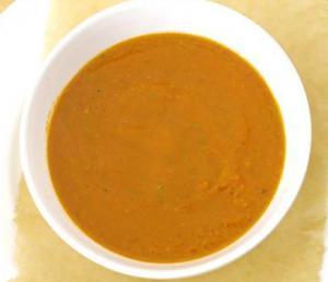 Hot Tomato Juice Soup