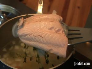 Poaching Salmon