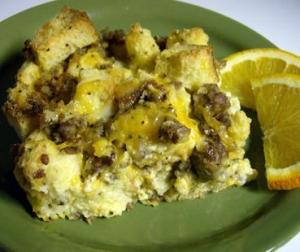 Heart Healthy Egg and Sausage Bake