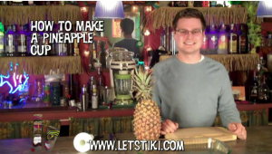 How To Drink Out Of A Pineapple