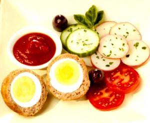 Oven-Style Scotch Eggs